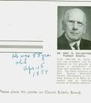 George G Vallentyne