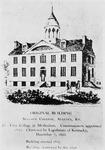 Augusta College, original building of Augusta College, Augusta, Kentucky (first college in Methodism)