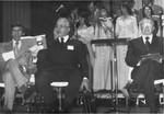 Hermiz, Tom, Major Ernest Miller, Bishop Henry Ginder at 1974 Convention