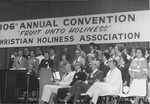 Platform at 106th Annual Christian Holiness Association Convention