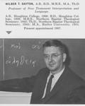 Dayton, Dr. Wilbur T.