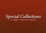Special Collection Box Banner by Asbury Theological Seminary