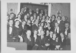 Peddicord and ESJ group photo at Elsie Eitlers, Dec 1933