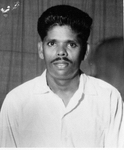Portrait of a student of Leonard Theological College, Jabalpur, India, 1963