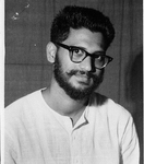 Student of Leonard Theological College, Jabalpur, 1963