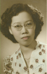 Portrait of Eunice Thio, 1949