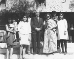 ESJ and Malvea Family at Sat Tal, India, 1969