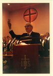 ESJ preaching in Altoona Pennsylvania, 1970