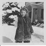 Anne Mathews, ESJ's grandaughter playing in the snow
