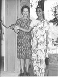Eunice Mathews, grandaughter of ESJ with Sushila Lance, wife of Bishop Lance