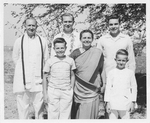 The Wagner Family in Indian dress