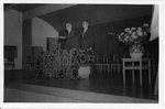 ESJ preaching in Morioka Japan, 1964