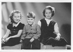 Anne, Janet and Stanley Mathews as children