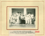 Group photo of ESJ and spiritual center committee at Hubly, 1966