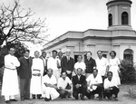 ESJ and group in Visakhapatnam, 1968