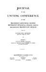 1939 Journal of the Uniting Conference of the Methodist Episcopal Church, Methodist Episcopal Church, South, and Methodist Protestant Church