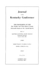 1954 Journal of the Kentucky Conference The Proceedings of the One Hundred and Thirty-Fourth Session (Sixteenth Session of the United Church)
