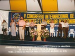 Participants at conference in Brazil, 1996