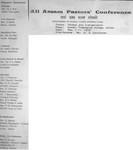 All Assam Pastors' Conference, Jorhat, 1979 - Title Page of Photo Album