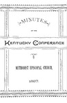 1887 Minutes of the Sixty-First Session of the Kentucky Conference of the Methodist Episcopal Church by Methodist Episcopal Church