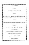 1893 Minutes of the Seventy-Third Session of the Kentucky Annual Conference of the Methodist Episcopal Church, South