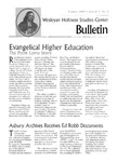 Wesleyan Holiness Studies Center bulletin 1:2 (Summer 1993)
