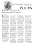Wesleyan Holiness Studies Center bulletin 3:2 (Summer 1995)