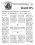 Wesleyan Holiness Studies Center bulletin 4:1 (Winter 1996)