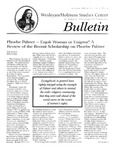 Wesleyan Holiness Studies Center bulletin 4:2 (Summer 1996)