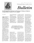 Wesleyan Holiness Studies Center bulletin 7:1 (Spring 1999)