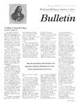Wesleyan Holiness Studies Center bulletin 10:2 (Winter 2002)