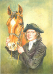 Young John Wesley and His Horse