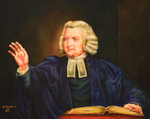 Charles Wesley Tercentenary Portrait by Richard Douglas