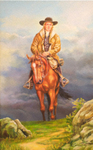 Francis Asbury on Horseback