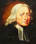 Larger Portrait of John Wesley by Richard Douglas