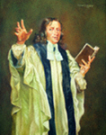 John Wesley in Surplice and Gown by Richard Douglas