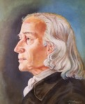 Portrait of John Wesley after the Enoch Wood bust