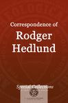 Correspondence of Roger Hedlund: Letters Jan - April 1980