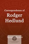 Correspondence of Roger Hedlund: Letters Oct-Dec 1981