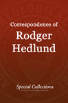 Correspondence of Roger Hedlund: Letters May-June 1981