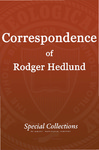 Correspondence of Roger Hedlund: CGRC-MARC Research Project Request 1985-1986
