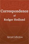 Correspondence of Roger Hedlund: William Carey Bi-Centennial Observance