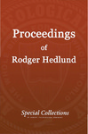Proceedings of Roger Hedlund: Minutes and Reports CGRC-CGAI 1987-1988