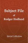 Subject File of Roger Hedlund: Carmalaram Spiritual Life & Witness Conference 1988