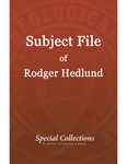 Subject File of Roger Hedlund: CGAI Board