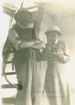 E. E. and Julia Shelhamer leaving Burundi