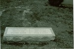 Grave Marker for Helen Arnold and Lucia Rose