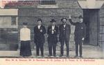 Shelhamer Famly Member Standing in Front of Jail