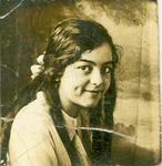 Shelhamer, Esther as a child