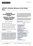 Christian Witness to the Urban Poor